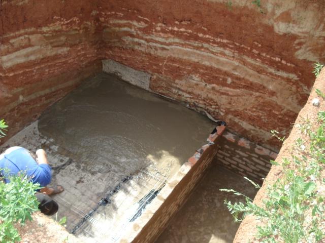 Заливка погреба бетоном своими руками 56